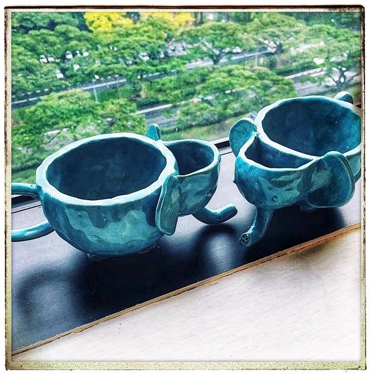 Elephant Mugs